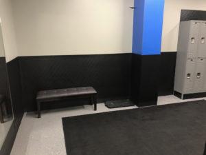 bench in lockeroom - Train Hard Fitness 8180 Oswego Rd. Liverpool, NY 13090 315-409-4764